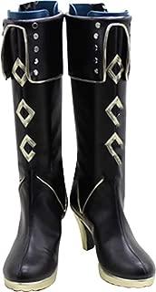 Mingchuan Whirl Cosplay Boots Shoes for Touken Ranbu Akashi Kuniyuki