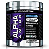 Cellucor Alpha Amino Supplement, Blue Razz, 15 Count