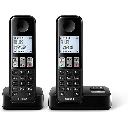 Philips D2552b 01 Dect Schnurlostelefon Mit Elektronik