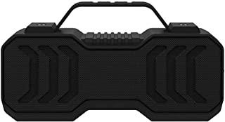 $94 » AERJMA Bluetooth Speaker Portable Audio Waterproof Wireless Subwoofer Outdoor Sports Electronic Products Black