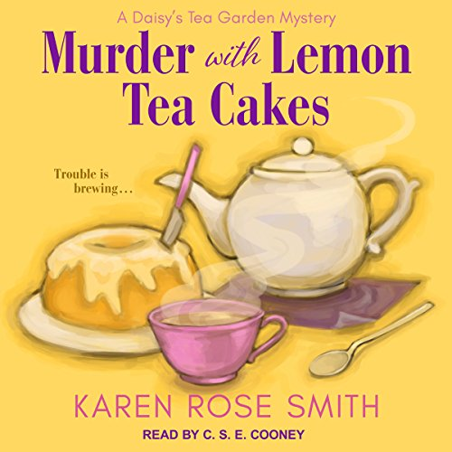 Murder with Lemon Tea Cakes audiobook cover art