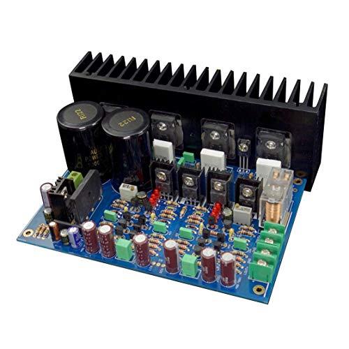 LouiseEvel215 120W * 2 A3 reemplaza LM3886 Placa de Amplificador de Potencia FET de Doble diferencial Completamente simétrica Circuito de protección UPC1237