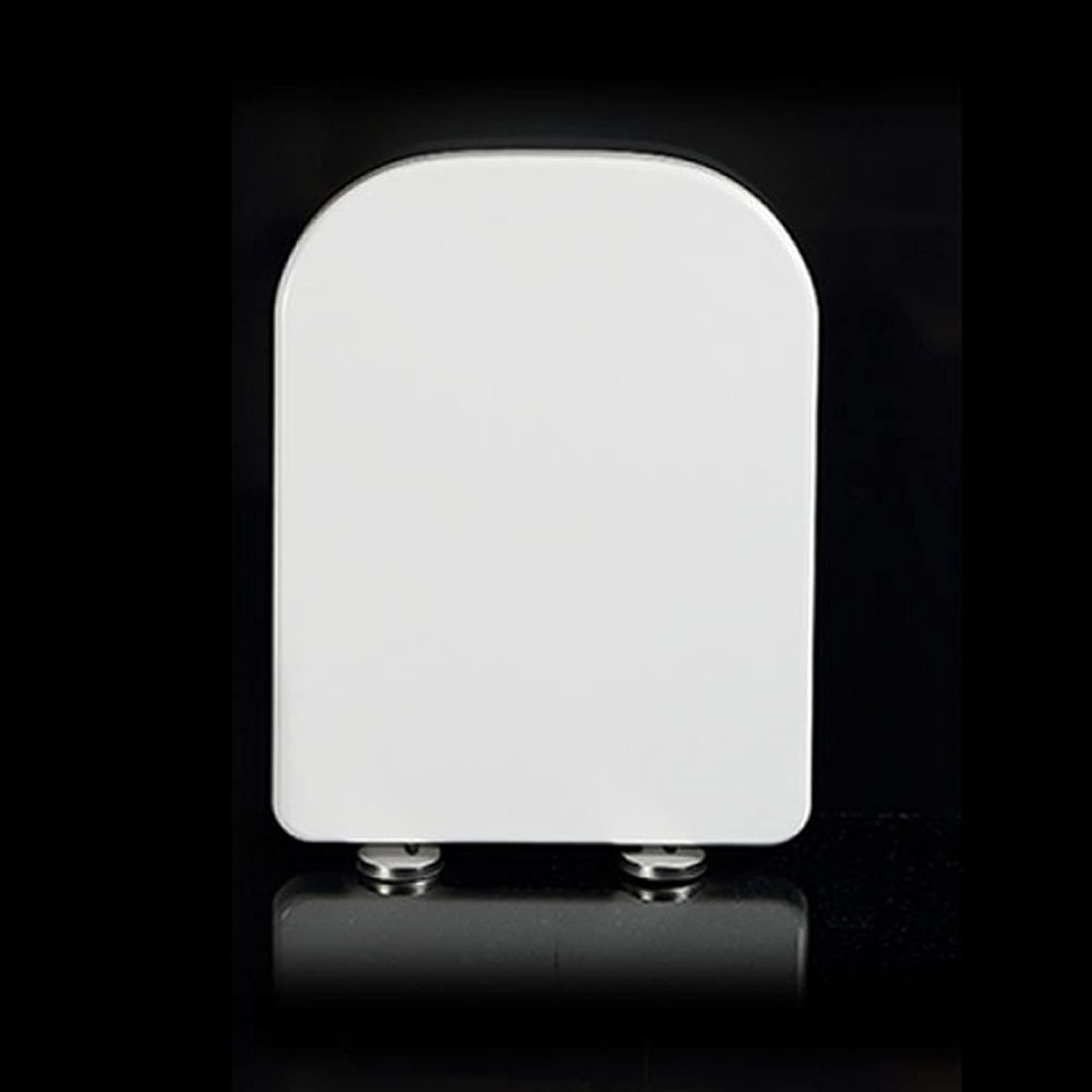 Toilet Seat Universal Toilet Lid Antibacterial Urea-formaldehyde Resin Thickened Ultra Resistant Toilet Cover For U-Shaped V-Shaped Square,O