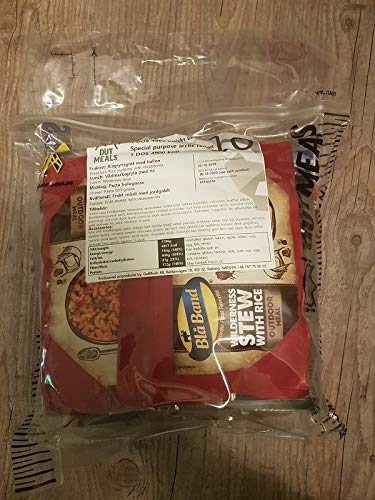 Armee EPA SCHWEDEN MENÜ 10 SCHWEDISCHES MRE Army Food NOTRATION Field Ration