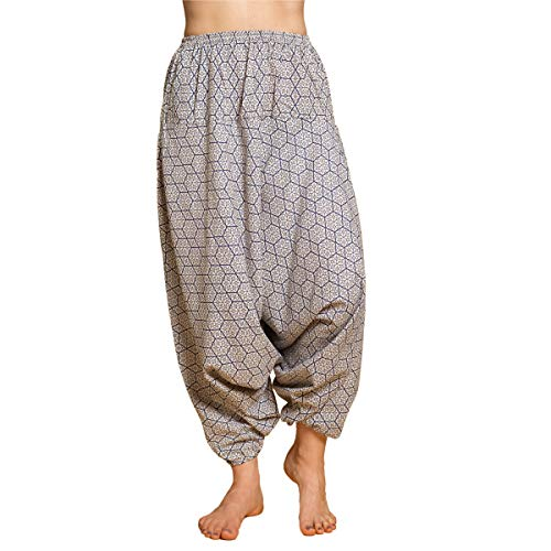PANASIAM Aladin Pants 'geometrix', Asanoha Star