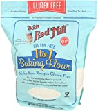 Bob's Red Mill Gluten Free 1 to 1 Baking Flour, 44 Ounce (Pack of 1)
