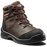 Dickies FC9535 Cameron - Botas de seguridad (11,5), color marrón