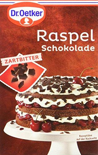 Dr. Oetker Raspel Schokolade Zartbitter (1 x 100 g)