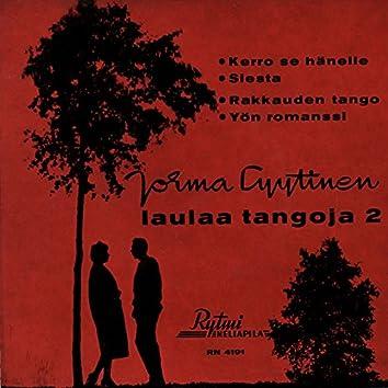 Jorma Lyytinen laulaa tangoja 2