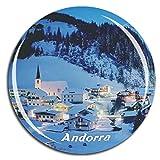 Weekino Andorra Imán de Nevera 3D de Cristal de Turismo de la Ciudad de Viaje Recuerdo de la Colección de Regalo Fuerte Etiqueta Engomada del refrigerador