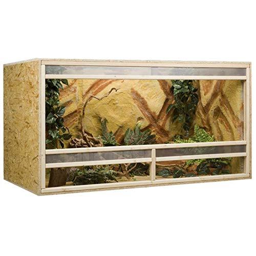 Holzkonzept OSB-Terrarium, 150x80x80 cm