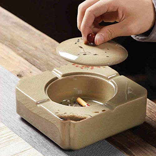 BINGFANG-W Ashtrays Chinese Hand-Painted Free shipping on posting reviews Creative Ceramics with Max 81% OFF