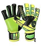 Guantes de portero de fútbol GK Saver Passion Ps05 Hybrid Pro Level Guantes de portero (sí, protección de dedos, personalización, talla 11)
