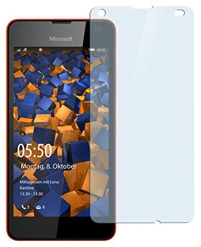 mumbi Hart Glas Folie kompatibel mit Microsoft Lumia 550 Panzerfolie, Schutzfolie Schutzglas (1x)