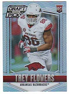 2015 Panini Prizm Collegiate Draft Picks Rookies Prizms Refractor #245 Trey Flowers RC NM-MT