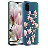 kwmobile Clear Case Compatible with Samsung Galaxy M30s -