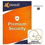 Avast Premium Security - Protección antivirus | 1 Dispositivo | 1 Año | PC/Mac | Código de activación enviado por email