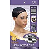 (3 Pack) Qfitt – Closed Top Mesh Wig & Weave Cap #504