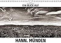 Ein Blick auf Hann. Muenden (Wandkalender 2022 DIN A4 quer): Ein ungewohnter Blick in harten Schwarz-Weiss-Bildern auf Hannoversch Muenden. (Monatskalender, 14 Seiten )