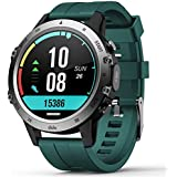 Smart Watch for Android iOS,Fitness Tracker with Blood Pressure Heart Rate Blood Oxygen Monitor,Pedometer,Watches for Men Women,Sleep Tracker,Call Messages Reminder,IP68 Waterproof(Green)
