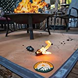Ember Mat | 67' x 60' | Fire Pit Mat | Grill Mat | Protect Your Deck, Patio, Lawn or Campsite from Popping Embers