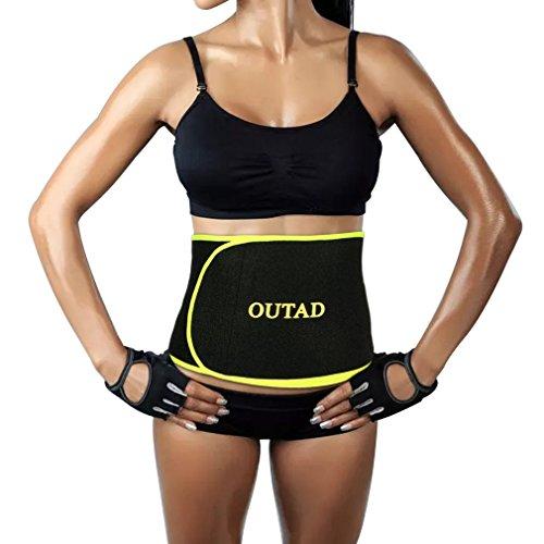 OUTAD Unisex Comfortabele Oefening Taille Trimmer Gewicht Riem Voor Gym Fitness En buik Vormen