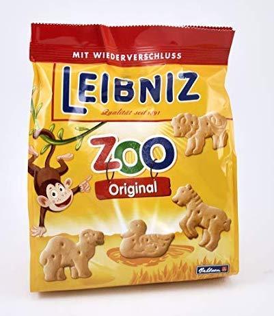 Bahlsen Leibniz Zoológico De Animales Galletas 125g (Paquete de 6)