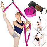 Door Leg Stretcher Band - Get More Flexible With The Door Flexibility Trainer To Improve Leg Stretching - Perfect Home Equipment For Ballet, Dance And Gymnastic Exercise taekwondo & MMA (Rose)