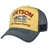 STETSON Casquette Trucker Dirt Track Racing Homme - Curved Brim Cap de Baseball Snapback...