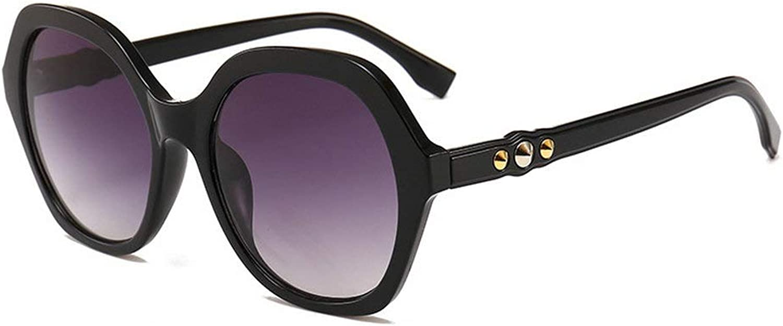 2018 gradient lens sunglasses women's brand designer UV400 fashion sunglasses ladies diamond decorative box