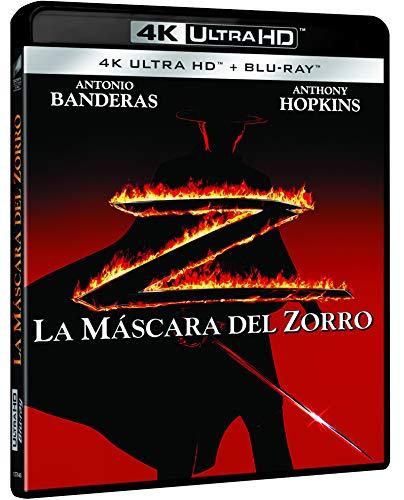La Máscara del Zorro (4K
