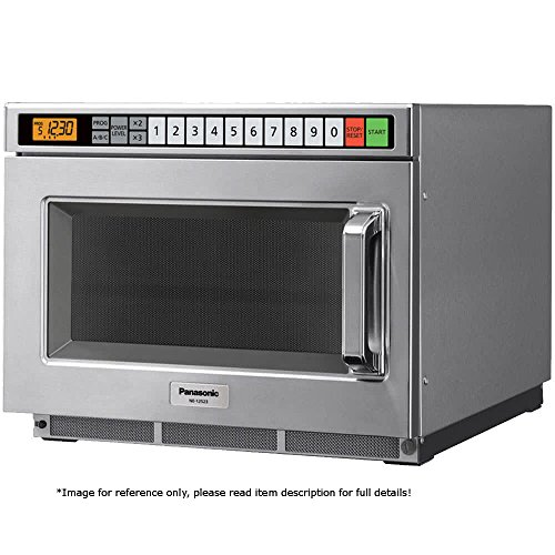 Commercial Series NE-17523 Commercial Microwave Oven 1700 Watts w/ 5 Stage Cooking & LCD Digital Display
