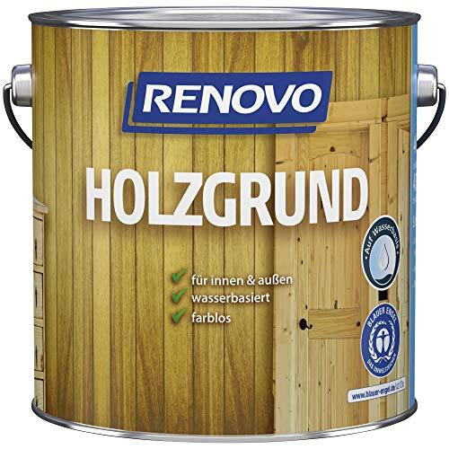 0,75 Liter RENOVO Holzgrund Farblos, für Innen + Außen, wb …