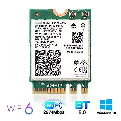 YOUBO AX200 WiFi 6 Card