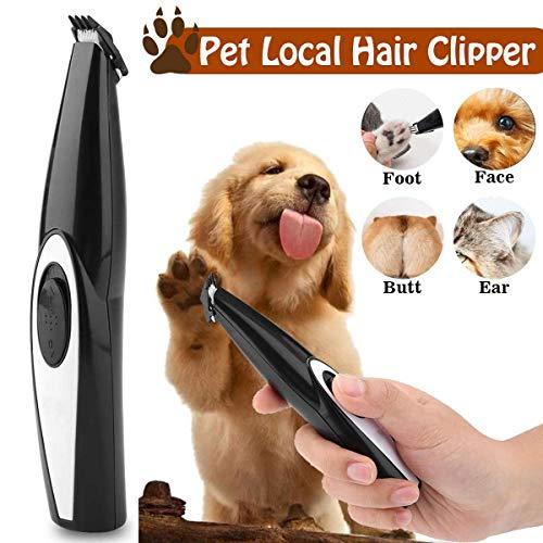 USB oplaadbare hond kat voet tondeuse Pet Grooming Tool Mini elektrische tondeuse scheren trimmen Machine