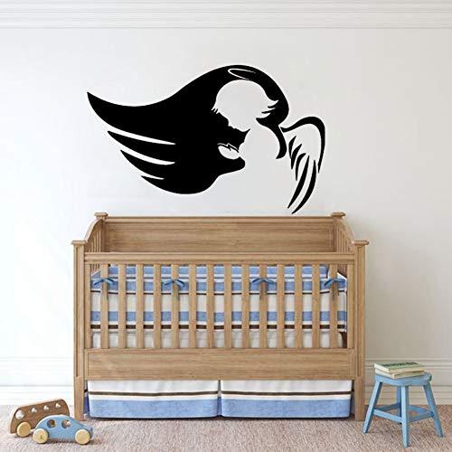 HULINJI Himmel Wandaufkleber Cute Baby Nursery Wandtattoo Home Dekorative Bedoom Schnittmuster Abnehmbare