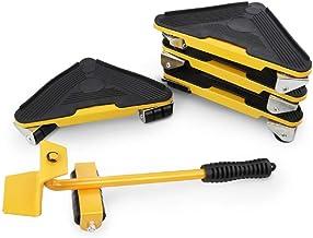 Meubelkrik, gemakkelijk te verplaatsen schuiver, 5-delige gereedschapsset, zwaar meubel-bewegingslift systeem, maximale be...