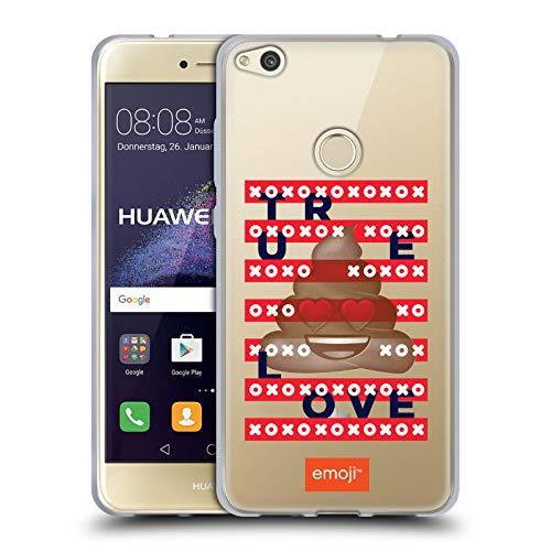 Head Case Designs Oficial Emoji Rayas Amor Carcasa de Gel de Silicona Compatible con Huawei P8 Lite (2017)