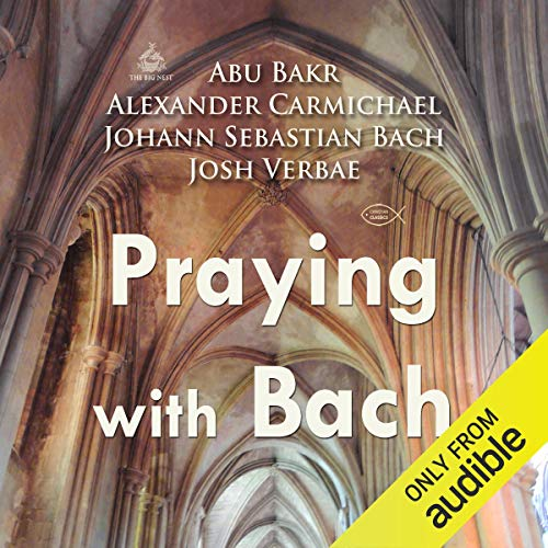 Praying with Bach cover art