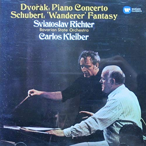 Dvorák: Piano Concerto, Schubert: `Wanderer` Fantasy,