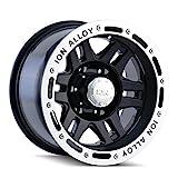 Ion Alloy 133 Black Beadlock Wheel (16x8'/5x127mm)