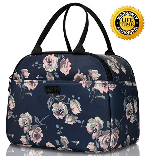Lunch Bags for Women Tote Bags Large Insulated Lunch Bag Wide Open Thermal Lunch Box meal Prep Lunch Bag for School Picnic Office Outdoor Lunch Tote for Girls