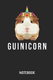 Guinea Pig Guinicorn Notebook: Cute Guinea Pig & Unicorn Lined Journal for Women, Men and Kids. Great Gift Idea for all Cavy Lover Boys and Girls.