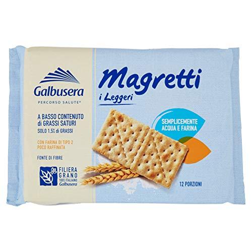 Galbusera Magretti Cracker A Basso Contenuto di Grassi con Farina di Tipo 2 380 g