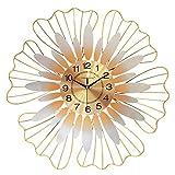 Viviendo reloj habitación Girasoles amor de maquillaje de cuarzo relojes que cuelgan de la decoración de la moda minimalista moderna creativa salón pared de estilo europeo extravagante personalidad lu