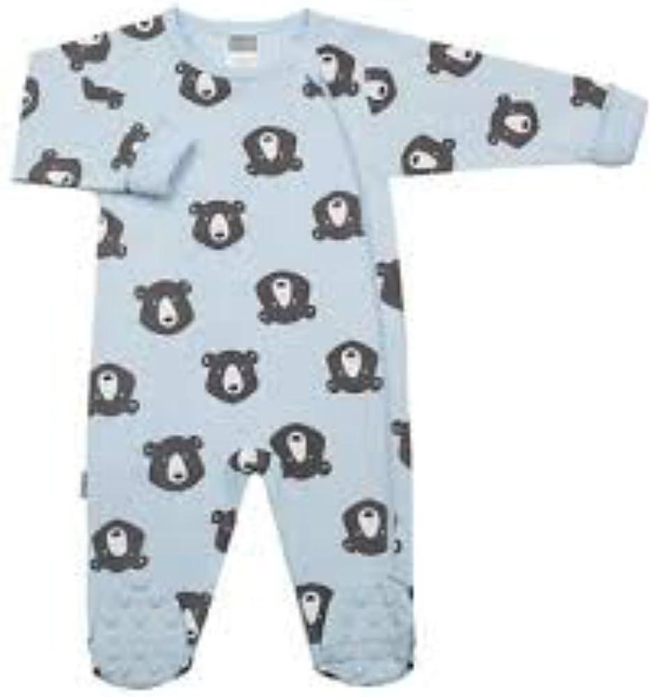 Kushies Baby Infant Side Zipper Sleeper