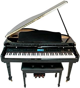Suzuki 88-Key Digital Pianos-Home  MDG-400 bl