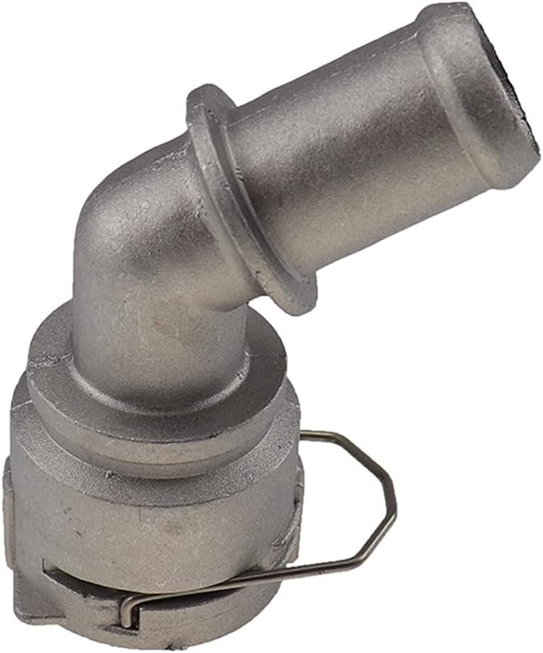 furong Conector de tubería de Acoplamiento de Aluminio refrigerante Conector de tubería de Agua para VW Golf Mk4 Jetta para Audi TT 1J0122291D 1J0 122 291 D