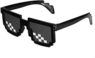 f217a8007f Weiwei Gafas de Sol Hombre,Gafas Freestyle Retro Life Pixel Fashion Gafas  Gafas De Sol