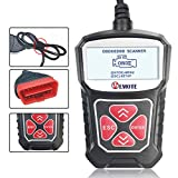 VEMOTE Universal OBD II Scanner Automotive Car Engine Fault Code Reader CAN Diagnostic Scan Tool for All 1996 and Newer Cars